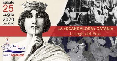 """""""La scandalosa Catania: i luoghi dell'Eros"""", tour notturno"""