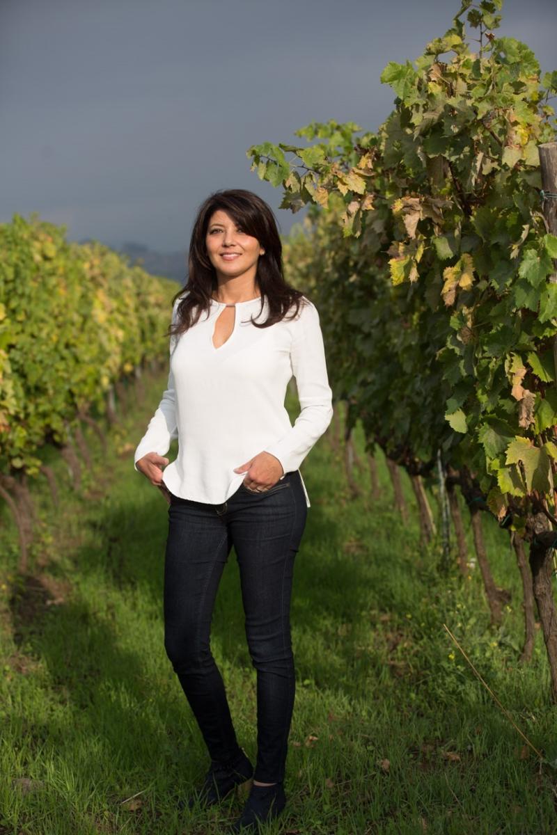 Gina Russo, produttrice vitivinicola e presidente Strada del Vino e dei Sapori dell'Etna